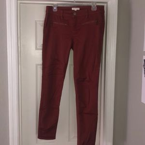 CLOSET CLEANUP! Red pants🍂